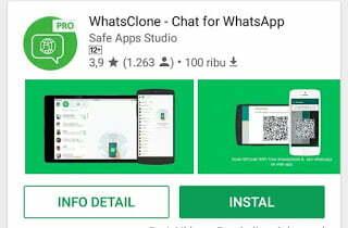 cara menyadap whatsapp seseorang menggunakan aplikasi whatsclone