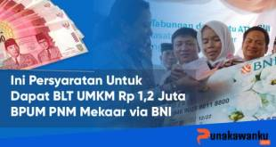 Daftar BPUM PNM Mekaar BNI