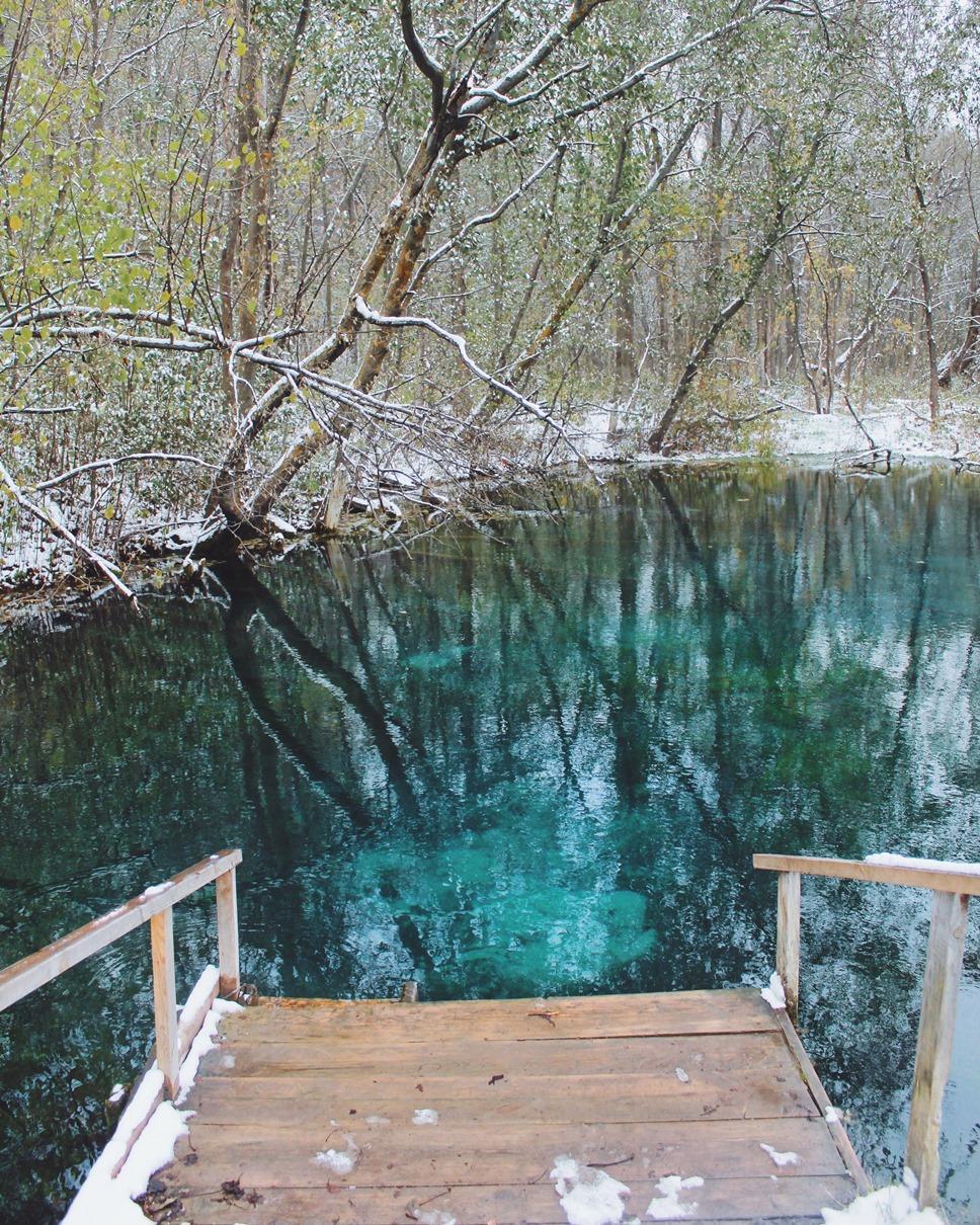 Голубое озеро в Казани