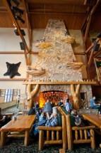 Great Wolf Lodge Niagara Falls Fireplace