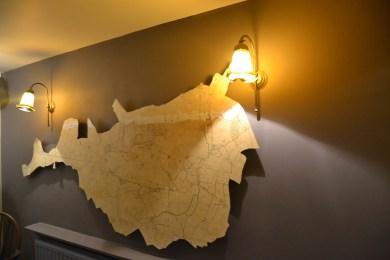 The Battisford map