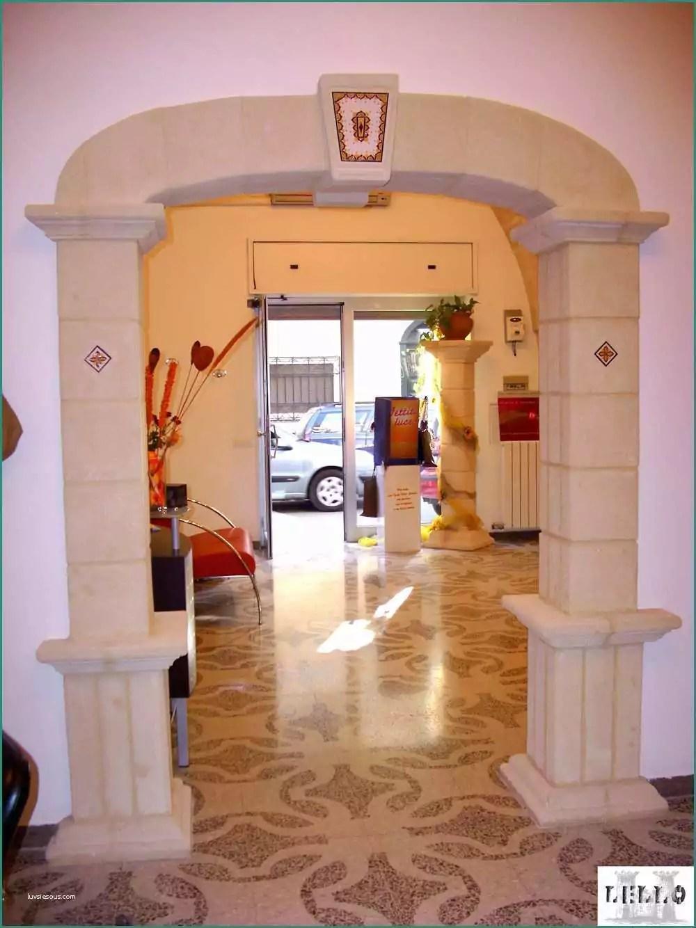 Archi Interni Casa E Realizzazione Colonne E Capitelli L