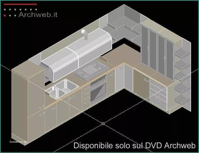 Arredo Cucina 3d Dwg | Mobili Bagno Dwg - Idee Per La Casa ...