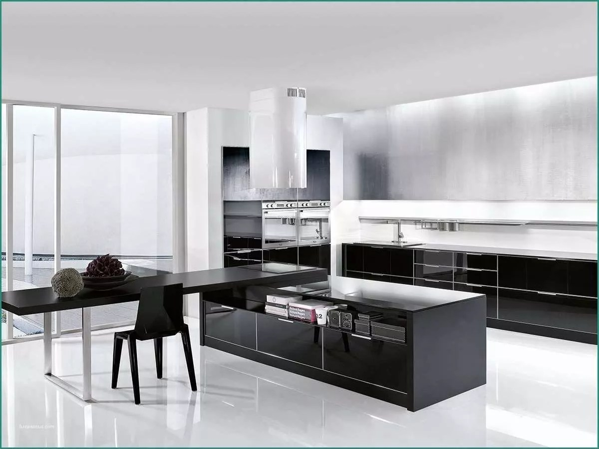 Cucine Nere Moderne