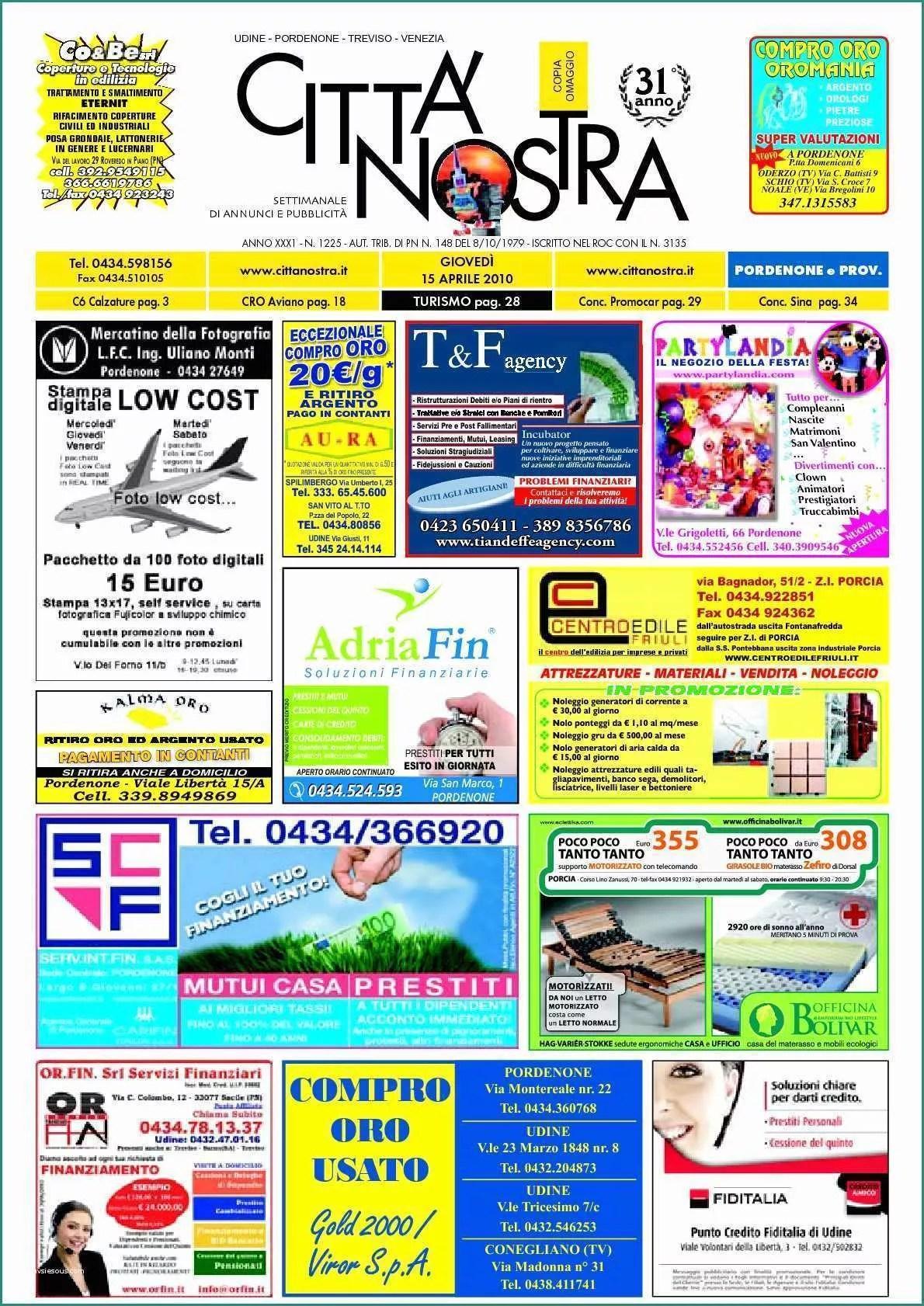 Soggiorno Laura Mondo Convenienza E Calamo Citt Nostra Pordenone Del 07 04 2011 N 1272