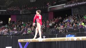 Kirsten Peterman (CAN) - Balance Beam - 2016 Pacific Rim Championships Team/AA Final