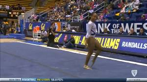 Toni Ann Williams Cal Floor 2015 vs Stanford 9.975