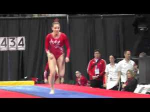 Shallon Olsen (CAN) - Vault 1 - 2016 Pacific Rim Championships Team/AA Final