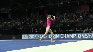 Georgia-Rose Brown (AUS) - Floor Exercise - 2016 Pacific Rim Championships Team/AA Final