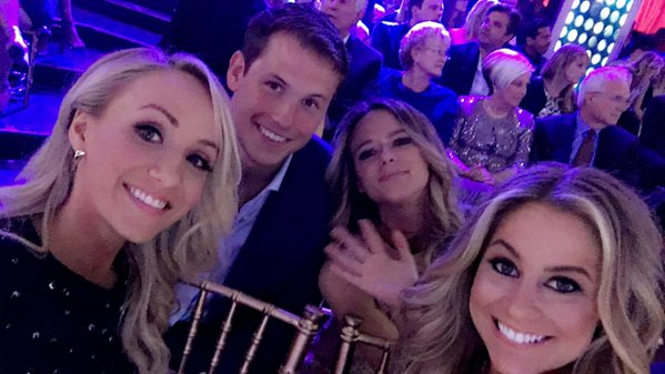 shawn johnson nastia liukin andrew east dwts selfie