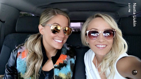 shawn johnson nastia liukin reunited selfie