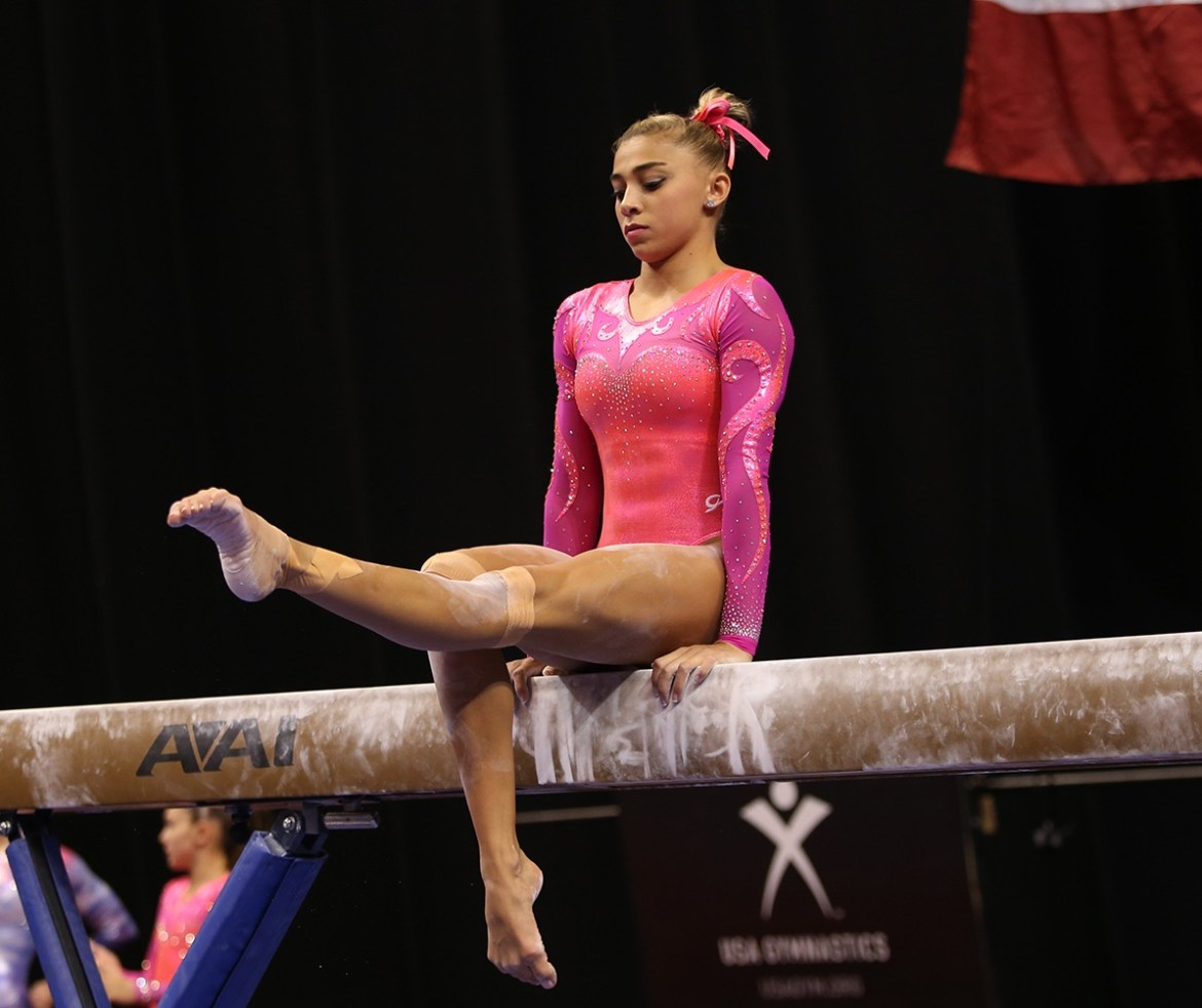 Ashton Locklear beam