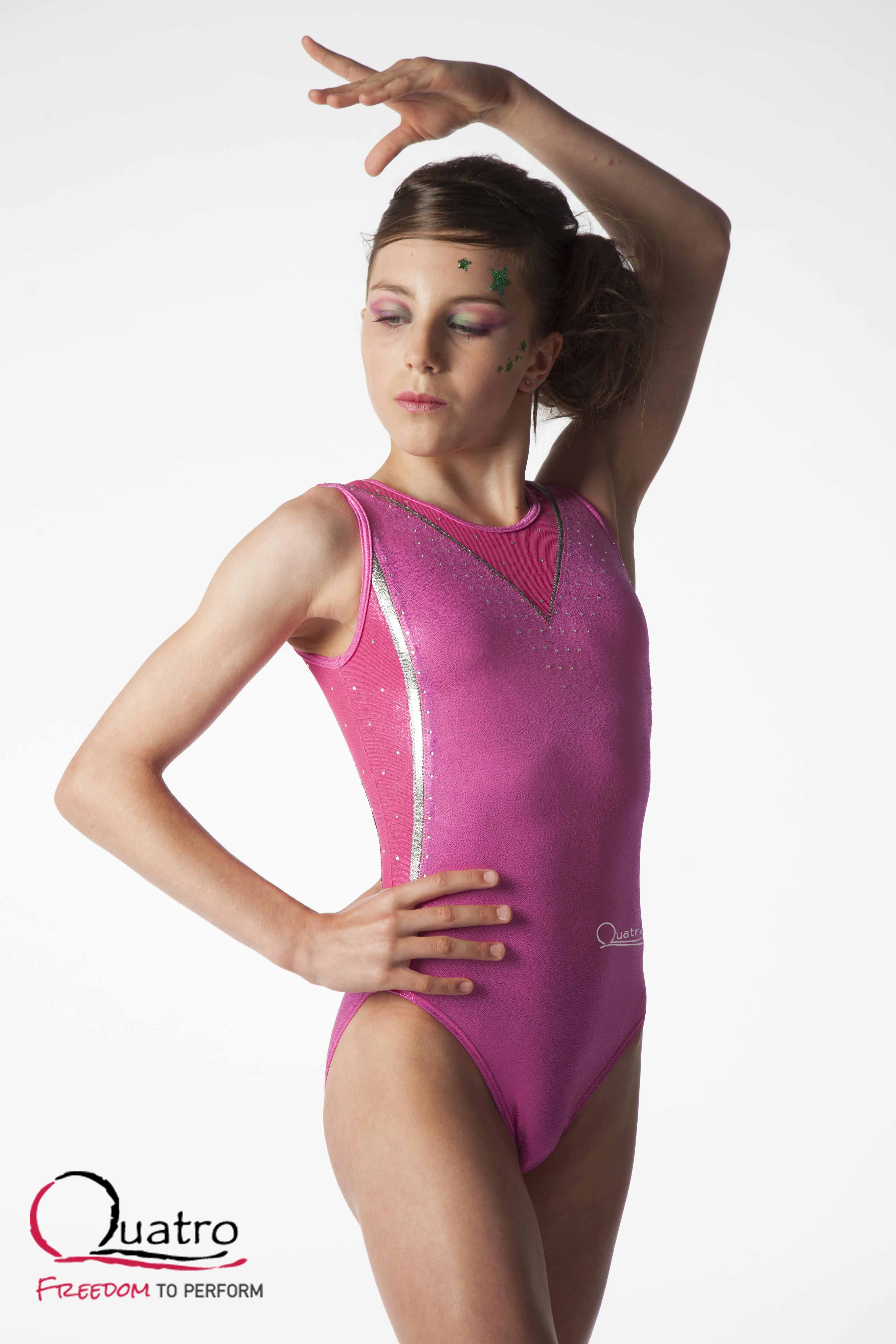 New Quatro Leotards Punch Front
