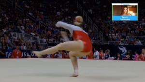 Mykayla Skinner Floor Exercise 2016 US Olympic Team Trials Day 2