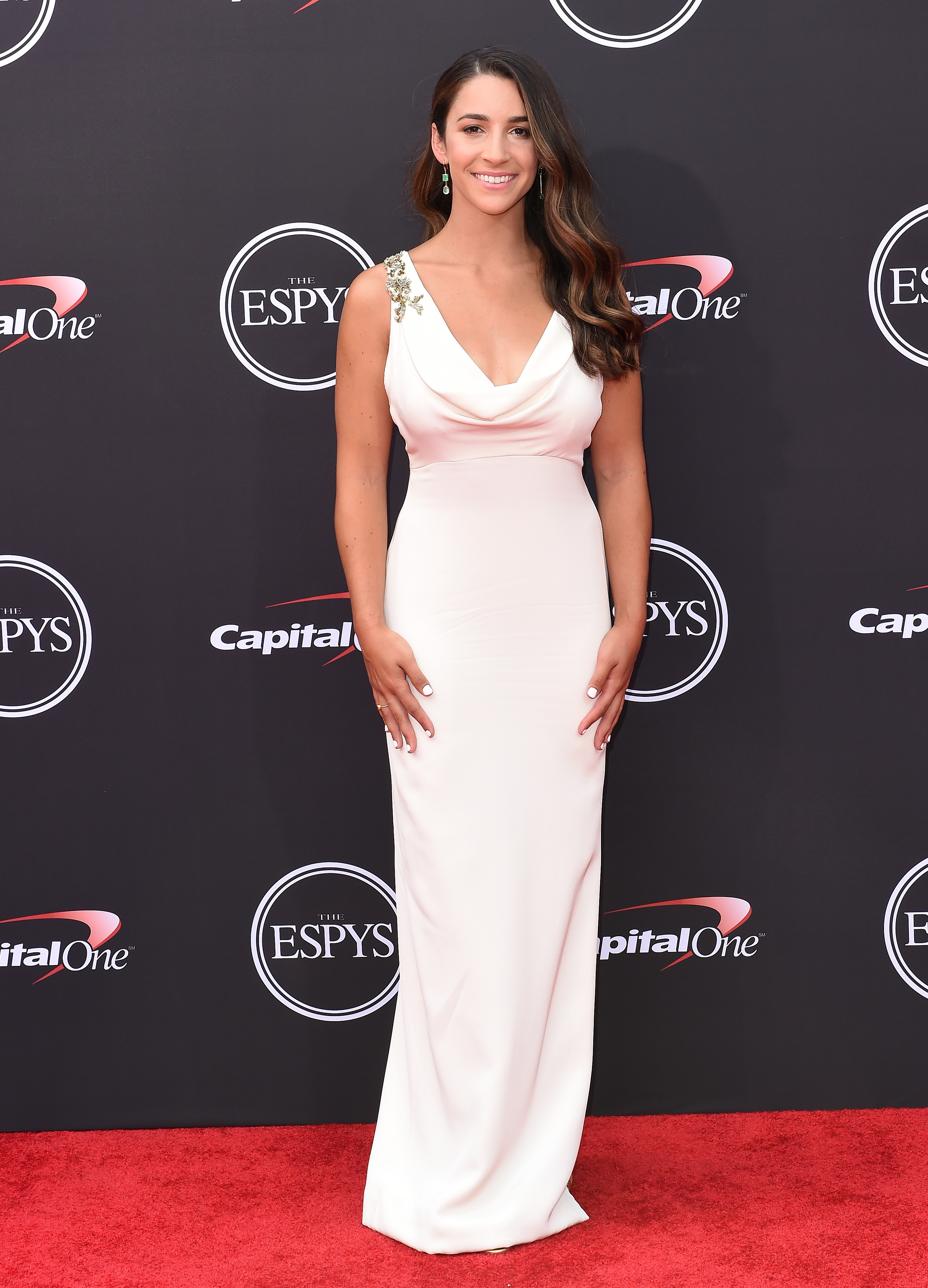 Aly Raisman Strong & Gorgeous at ESPYS – Punch Front