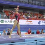 Madison Desch - Vault - 2014 World Championships - Podium Training
