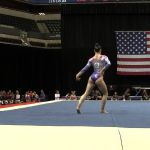 Megan Skaggs– Floor Exercise – 2015 P&G Championships – Sr. Women Day 2