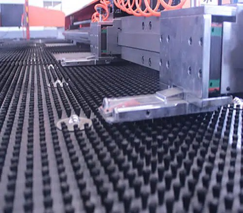 Mechanical turret punch Worktable