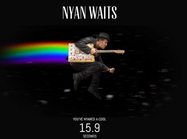 Nyan Waits: Nyan Cat With Tom Waits