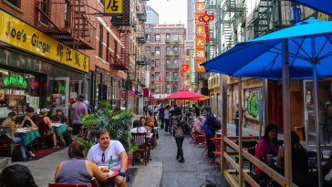 "De Blasio: NYC Outdoor Dining Will Become ""Permanent And Year-Round"""