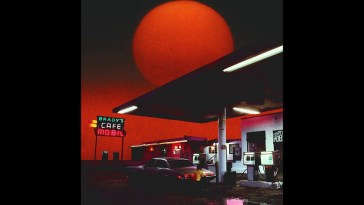 Helena Deland – Smoking at the Gas Station
