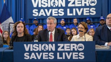 Vision Zero Sputters As NYC Traffic Deaths Reach Highest Level Of De Blasio Era