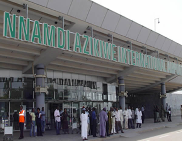 Image result for Tweet   Share  Pin it  +1 Nnamdi Azikiwe International Airport, Abuja