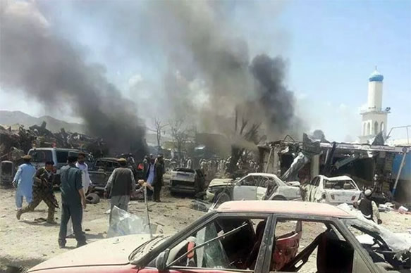 Image result for Death toll in Kabul mosque attack rises to 20