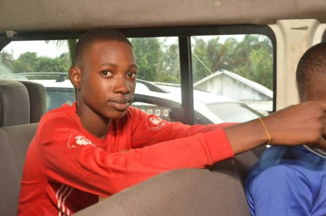 Image result for pictures of Lagos freed kidnapped students