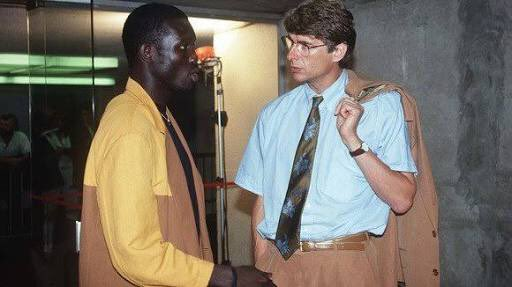 Image result for george weah, wenger