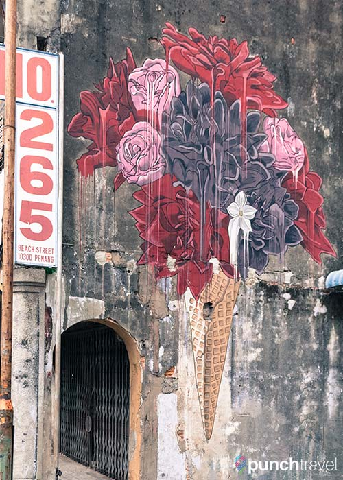 swing chair penang red desk staples complete guide to street art in george town, - punch travel