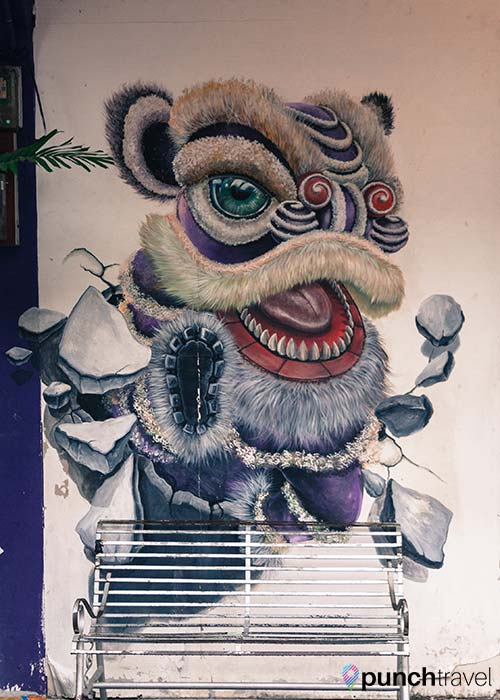 swing chair penang white folding covers complete guide to street art in george town, - punch travel