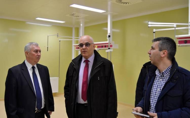 Spitalul Regional. Prioteasa: S-a depășit etapa elaborării documentației cadastrale , urmează intabularea și adoptarea hotărârii de Guvern pentru transferarea terenului către Ministerul Sănătății