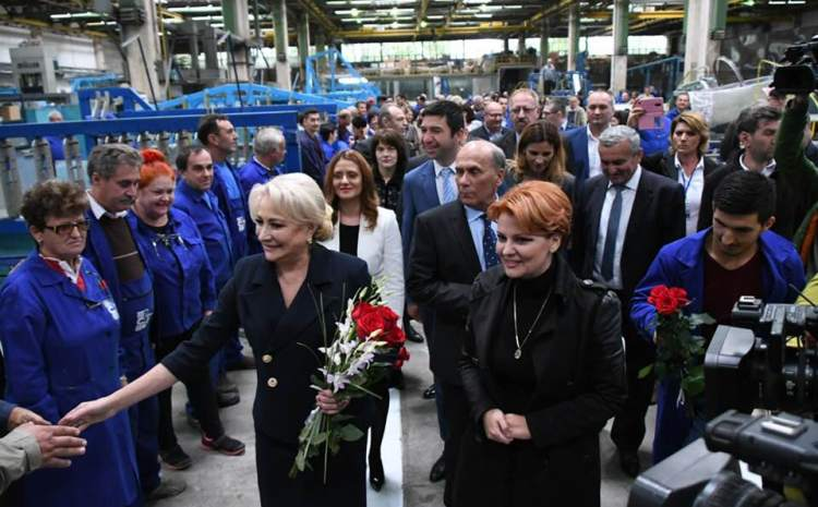 Lia Olguța Vasilescu, consilier onorific pe infrastructură al premierului