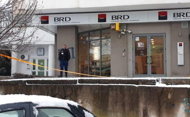 Jaf la o bancă din Craiova. Este vorba de o agenție BRD din apropierea S200.