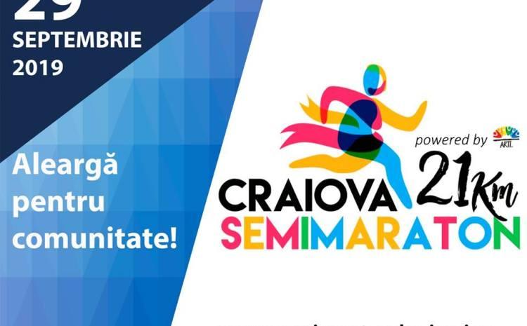 Semimaratonul Craiovei. Aleargă pentru comunitate
