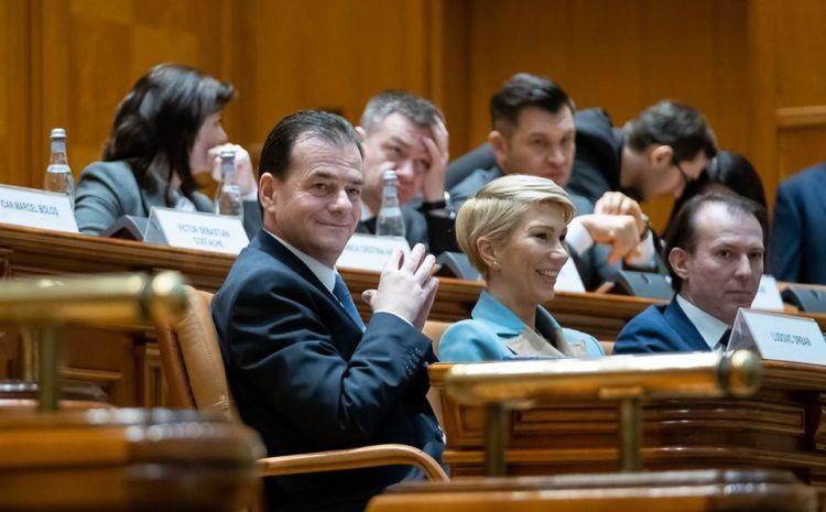 Ludovic Orban:  Guvernul cade în picioare. Suntem mândri de ce am făcut în trei luni.