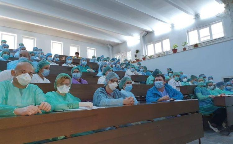 Spitalul Victor Babes, pregătit pentru scenariul trei: prioritizam cazurile infectate, avem un nou spațiu de triaj al pacienților