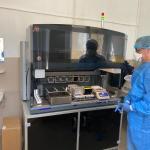 Vezi cum se face testarea pentru coronavirus. Imagini din laboratorul de la Spitalul de Boli Infecțioase Craiova