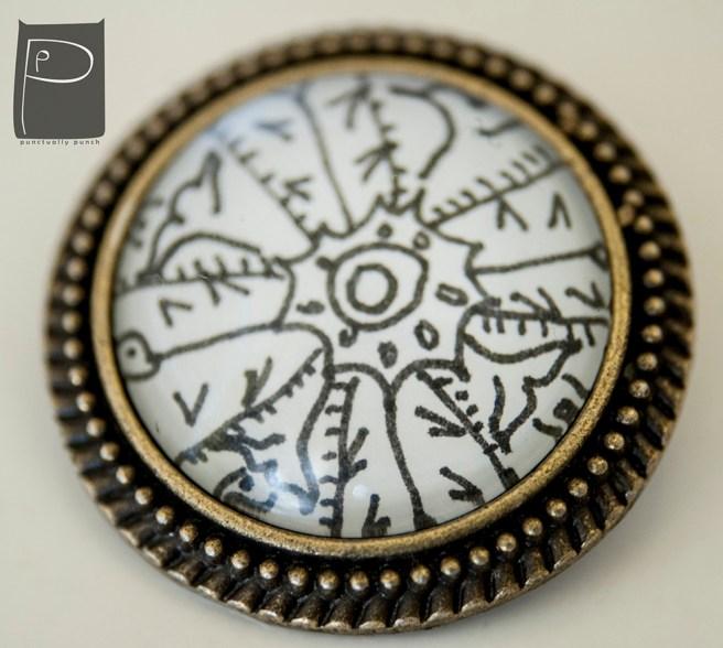 xmas_glass_cabochon_pin_handmade_pattern_1_snowflake