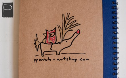 xmas_handdrawn_unique_pattern_notebook_recycled_7_reindeer_santa_punch