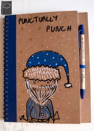 xmas_handdrawn_unique_pattern_notebook_recycled_6_santa_claus