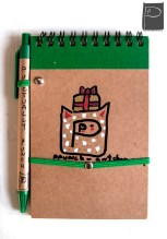 xmas_handdrawn_unique_pattern_notebook_recycled_3_presents