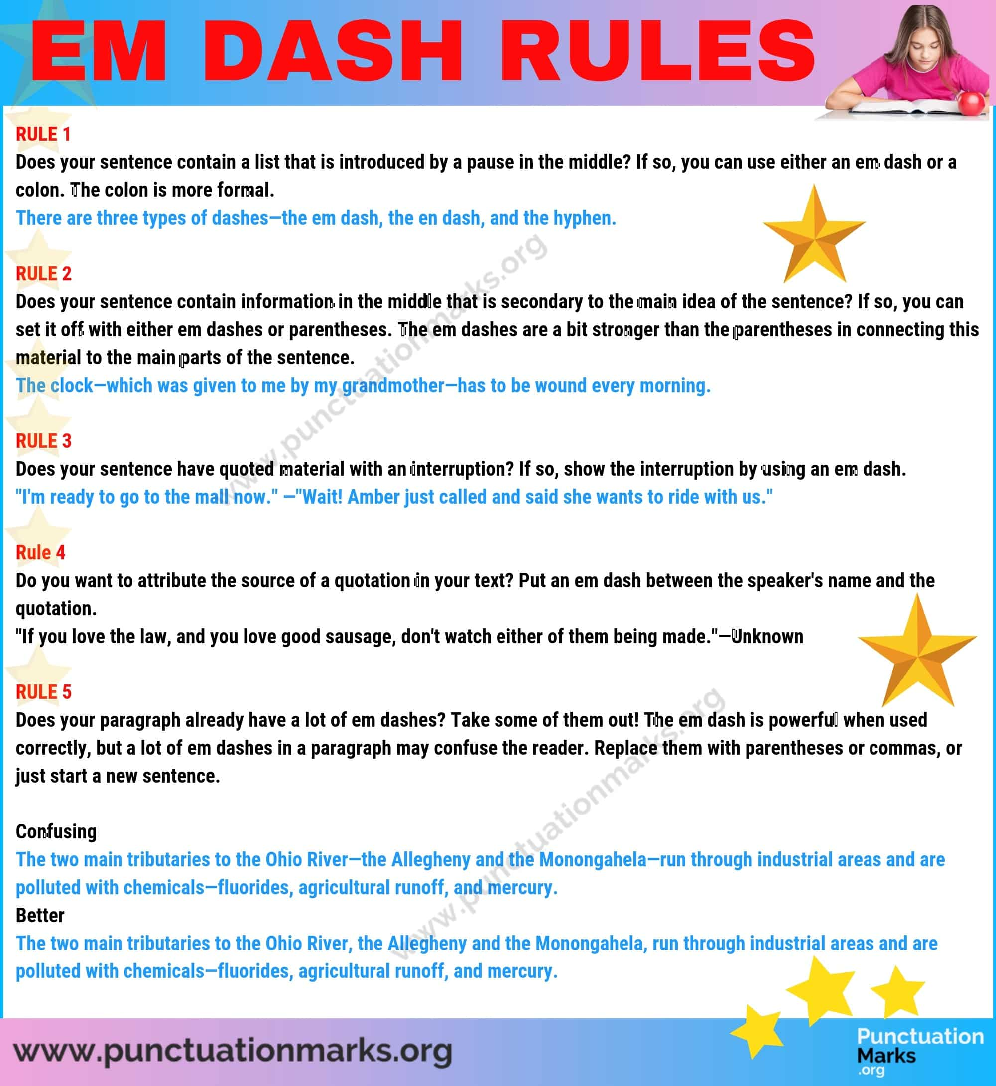 Em Dash When To Use An Em Dash Long Dash
