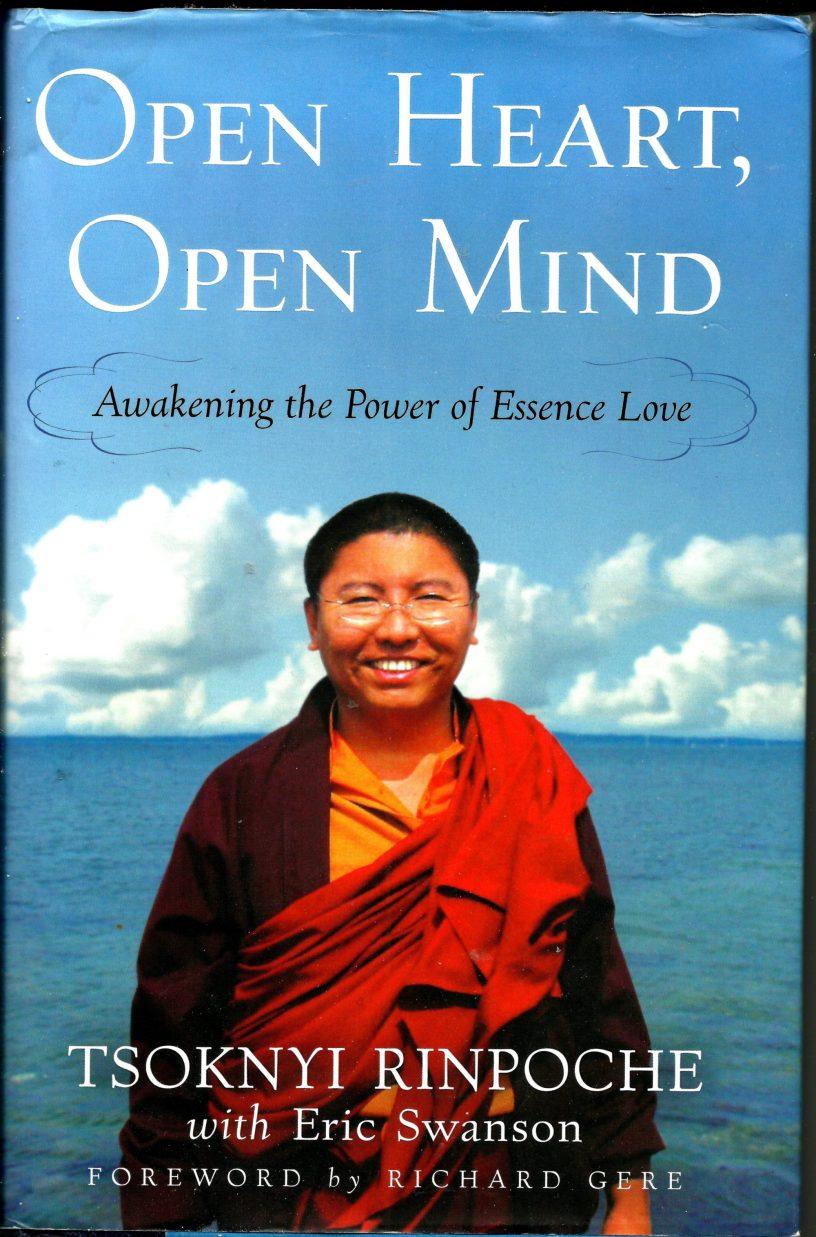 Cover photo of Open Heart, Open Mind book
