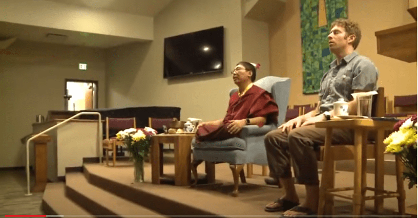 """Rinpoche teaches """"dropping"""""""