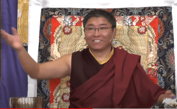 Tsoknyi Rinpoche teaching
