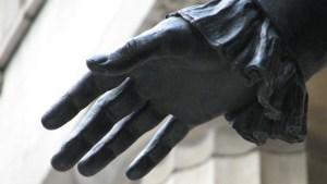 Washington's hand