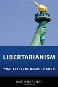 Bogcover til Libertarianism af Jason Brennan