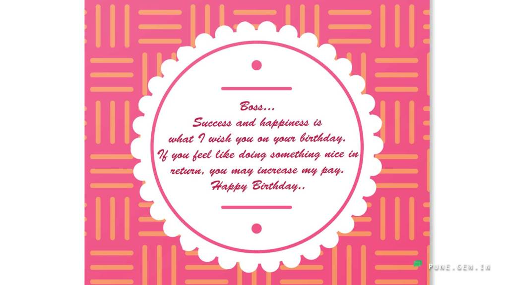 Birthday Wishes For Boss Quotes And Messages Wishes Messages